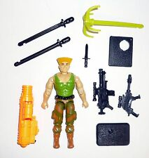 GI JOE GUILE Vintage Action Figure Street Fighter 2 COMPLETE 3 3/4 C8 v1 1993
