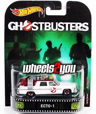 ECTO-1 Ghostbusters - 2017 Hot Wheels Retro Entertainment A Case IN-STOCK