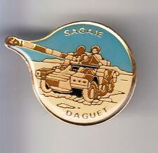 RARE PINS PIN'S .. ARMEE ARMY GUERRE GOLFE CHAR TANK BLINDE SAGAIE DAGUET ~BX