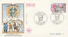 Enveloppe 1er jour SAINTE-MENEHOULD 1989 Célébrités  Révolution DROUET timbrée