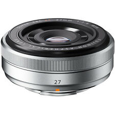 Fujifilm Fujinon XF 27mm f/2.8 Lens (Silver) - NEW - FUJI USA WARRANTY