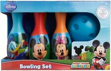Disney Mickey Mouse Clubhouse Bowling Set MULTI Toy Kids Play Game Christmas Gi