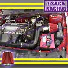 02 03-05 CHEVY CAVALIER PONTIAC SUNFIRE 2.2L I4 ECOTEC AIR INTAKE Red S