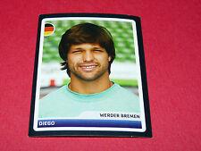 185 DIEGO WERDER BREMEN UEFA PANINI FOOTBALL CHAMPIONS LEAGUE 2006 2007