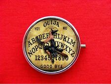 OUIJA BOARD WICCA WITCH PIN UP ROUND METAL PILL BOX
