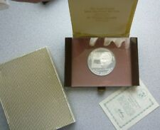 1974 COOK ISLANDS - 50 DOLLARS - CHURCHILL - PROOF STERLING SILVER w/ COA - 3 Oz