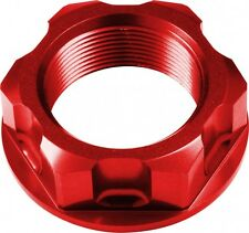 APICO Steering Stem Nut YAMAHA YZ125/250 94-15 YZF250 01-15 YZF450 03-15 RED