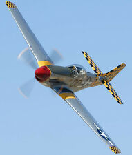 "Model Airplane Plans (UC): P-51 MUSTANG 1/16 Scale 27½"" for .10-.29 (Musciano)"
