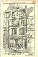 1904 New Leicester Shop Offices High Street W A Gilbey Lawton Brown
