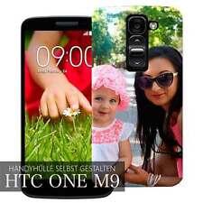 3D Handyhülle selbst gestalten für HTC One M9 Schutz Hülle Case Cover mit Bild