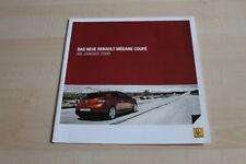 119228) Renault Megane Coupe Prospekt 10/2008