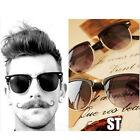 Style Black Half Frame Sunglasses Classic Vintage AE