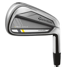 NEW 2013 TAYLORMADE ROCKETBLADEZ TOUR IRONS 4-PW KBS STIFF STEEL IRON SET