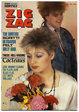 ZIGZAG No 153 August 1984 Smiths Billy Idol Ultravox Cocteau Twins Leitmotiv