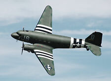 "Giant 1/8 Scale Douglas C-47 SKYTRAIN scratch build Plans for r/c Plane 135""WS"
