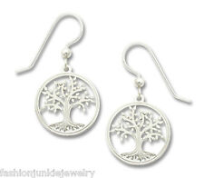 Tree of Life Earrings - 925 Sterling Silver Ear Wire - Celtic Life Family NEW