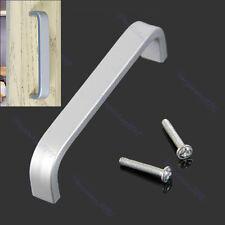 Aluminum Solid Cabinet Bathroom Kitchen Cupboard Drawer Door Knob Handle Grip