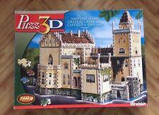 Puzz 3d UNIQUE Anif Castle Used Complete Puzzle 3D Wrebbit Milton Bradley MB