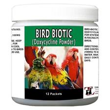 Bird Biotic 100mg Powder Packets Doxycycline - 12 Ct Pharmacy Grade Antibiotics