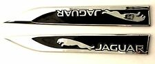 Jaguar Wing Emblem Set Replaces OEM Jaguar Sport Fender & Trunk Badge / Decal