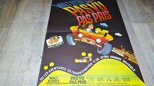 PAS VU PAS PRIS ! affiche cinema cars buggy 1972