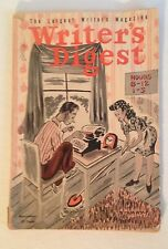 Writers Digest-11/1945-scientist reads Amazing Stories pulp-historic cover-VG  Z