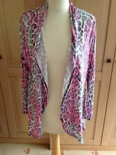 GREAT BLONDE & BLONDE PASTEL COLOURED ANIMAL PRINT CARDIGAN UK SIZE 12 BNWT