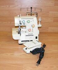 Singer Merrittlock 14U44 (2054) Serger / Sewing Machine w/ Foot Pedal **READ**