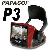 Papago P3 FULL HD 1080P Car Black Box Camcorder/GPS Logger Free16G◎Red/Blue+Gift