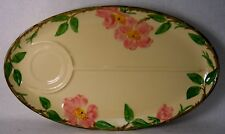 """FRANCISCAN china DESERT ROSE USA pattern Snack or TV Tray - 14"""""""