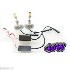 2 AMPOULE LED H7 40W - ÉCLAIRAGE PUISSANT - 6000K PEUGEOT 307 PH 1