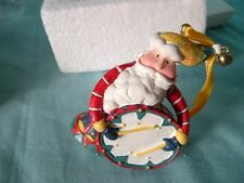 AVON 1998 Santa Tune Ornament Drum - NIP