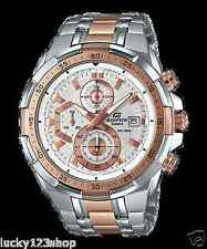 EFR-539SG-7A5 Pink gold Casio Edifice Men's Watches New Model 100M Steel Band