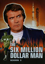 The Six Million Dollar Man: Season 5 (DVD, 2014, 6-Disc Set)