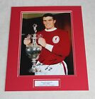 RON YEATS Liverpool Genuine HAND SIGNED Autograph Photo Mount Display + COA.