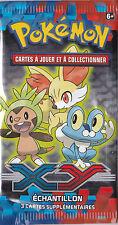 1x Booster Edition XY : Echantillon - Pokemon Neuf Français - Rare French Sample