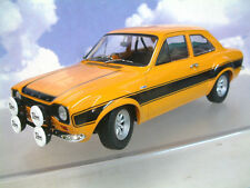 MINICHAMPS 1/18 DIECAST 1970 FORD ESCORT MKI RS1600 FAV ORANGE/BLACK 100688104