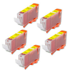 5 YELLOW Replacement Printer Ink for CLI-8 Canon MX850 MX700 MP500 MP610 MP830