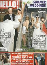 Hello magazine Alec Baldwin Strictly Dancing wedding Prince William Middleton