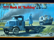 "MACK AC ""BULLDOG"" TYPE EHT, LATE VERSION WWI TRUCK , RPM, SCALE 1/72"