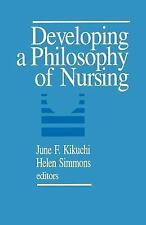 Developing a Philosophy of Nursing, , Acceptable Book