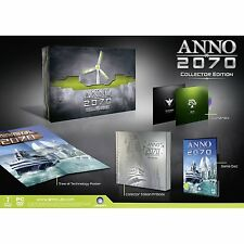 Anno 2070 Collectors Edition for PC DVD-ROM by Ubisoft, 2011, Strategy