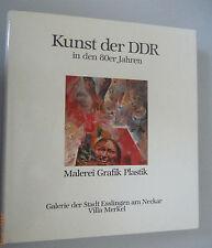Kunst der DDR in den 80er Jahren ~Malerei Plastk Grafik~Galerie der St.Esslingen