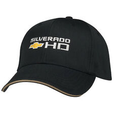Chevrolet Chevy Silverado HD Licensed Cotton Black Hat
