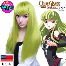Rockstar Wigs®Character C.C.From Code Geass- Lime Green (Chartreuse) - 00605