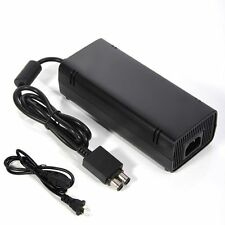 AC adapter Power Supply  Charger Cable Cord brick for Microsoft Xbox 360 slim