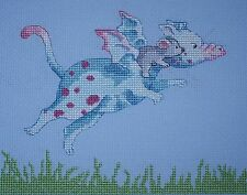 KL127 Learning to Fly - Dillon & Ko! Dragon Cross Stitch Kit