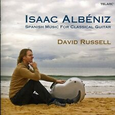 Spanish Music For Classical Guitar - I. Albe (2011, CD NEUF) Russell*David (GTR)