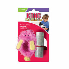 KONG FUZZY SLIPPER Refillable Catnip Wrestle Toy for Cats and Kittens (NS41)