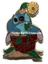 DISNEY Pin LE 250 - Stitch in Flower Pot - Fun with Flowers Series
